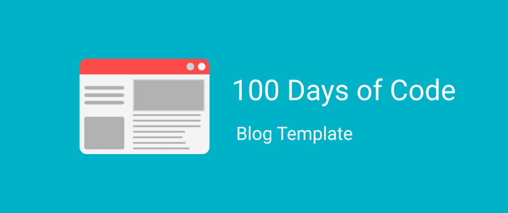 Cover image for How to set up your own personal website for 100 Days of Code