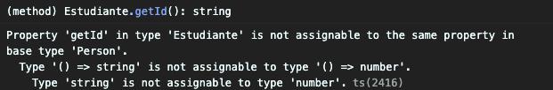 Typescript Error overload