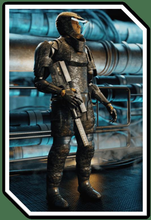 Tau Station Combat Suit