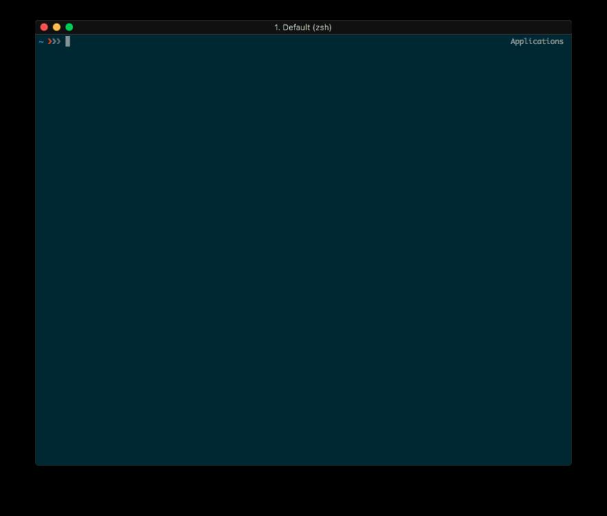 Here is mine minimalist (iTerm 2 + Prezto zsh)