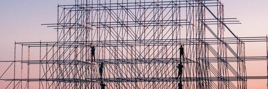 clipart of scaffolding