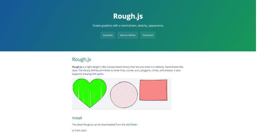 RoughJS