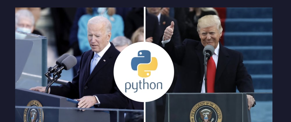 Cover image for How Do the Top 20 Words in Biden's Inauguration Speech Compare to Trump's?