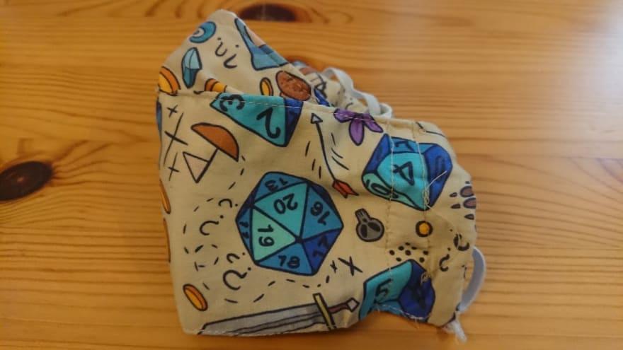 Boat shaped mask pattern