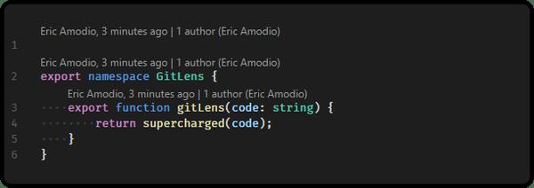 GitLens extension