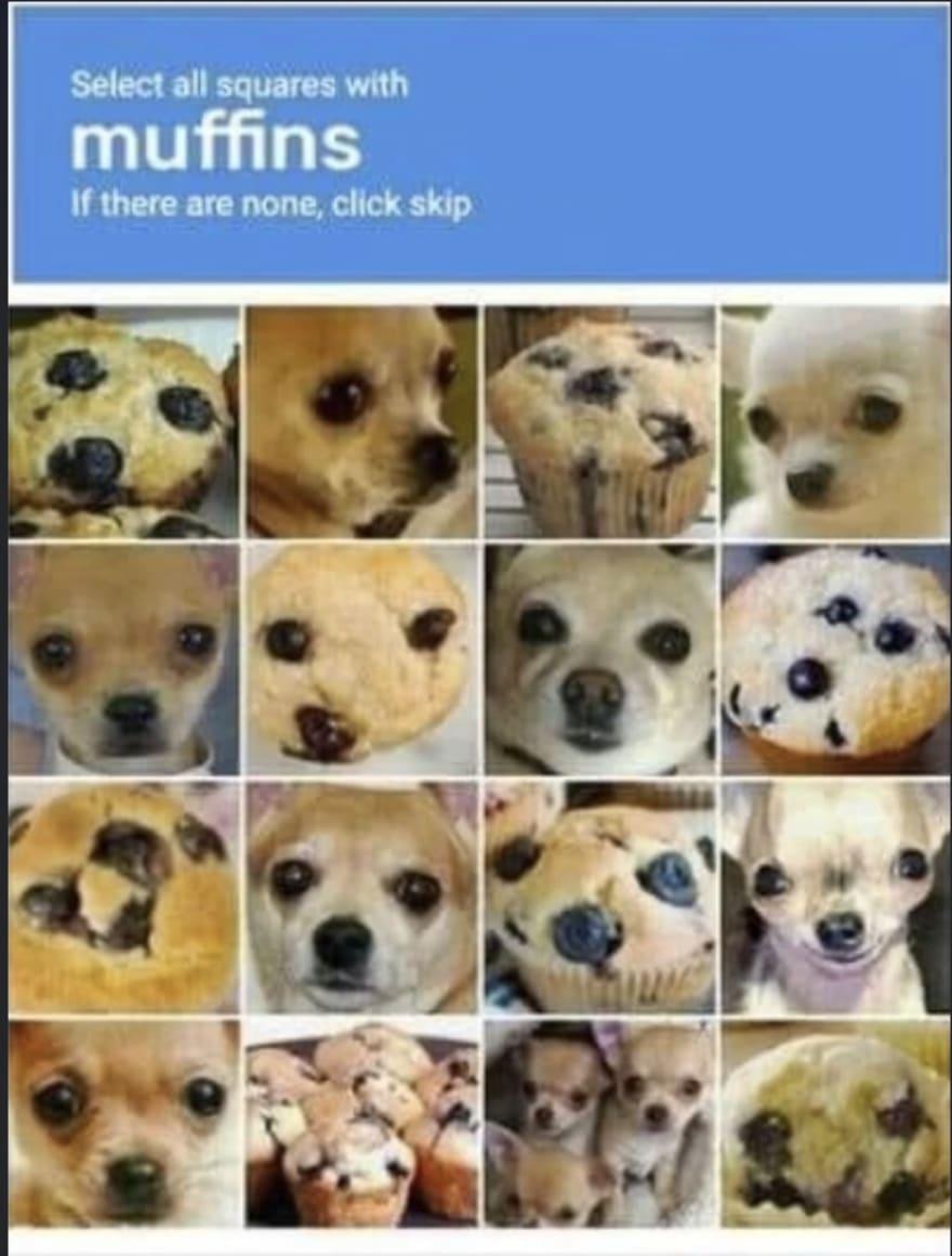 Captcha muffins
