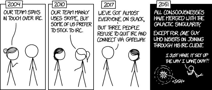 XKCD: Team Chat