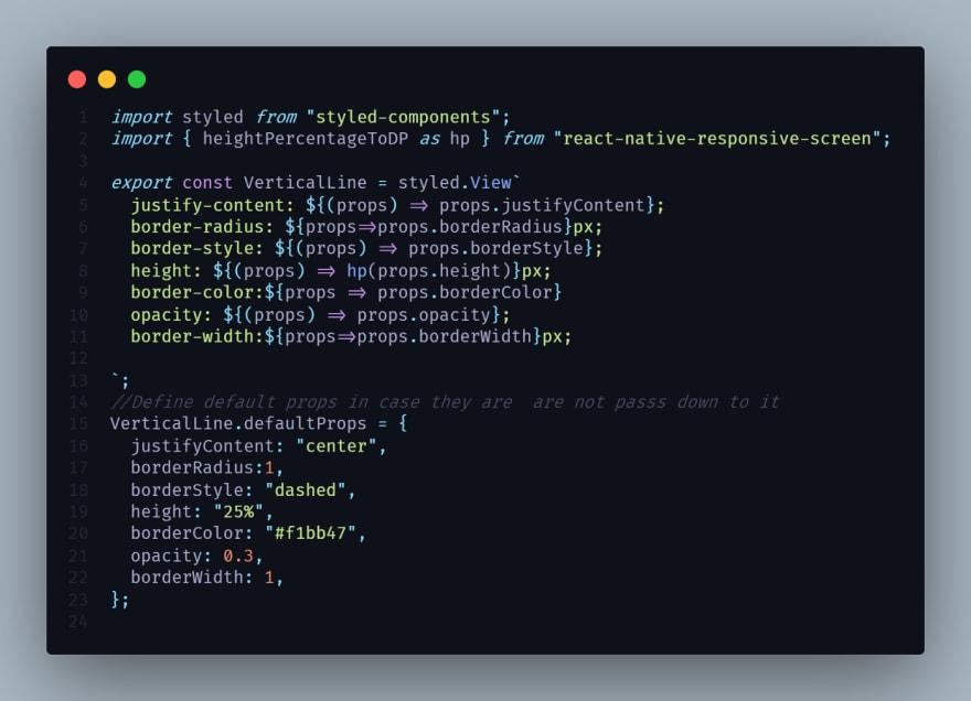 VerticalLine Code