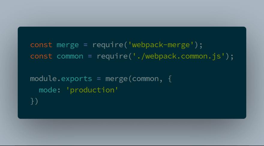 webpack prod