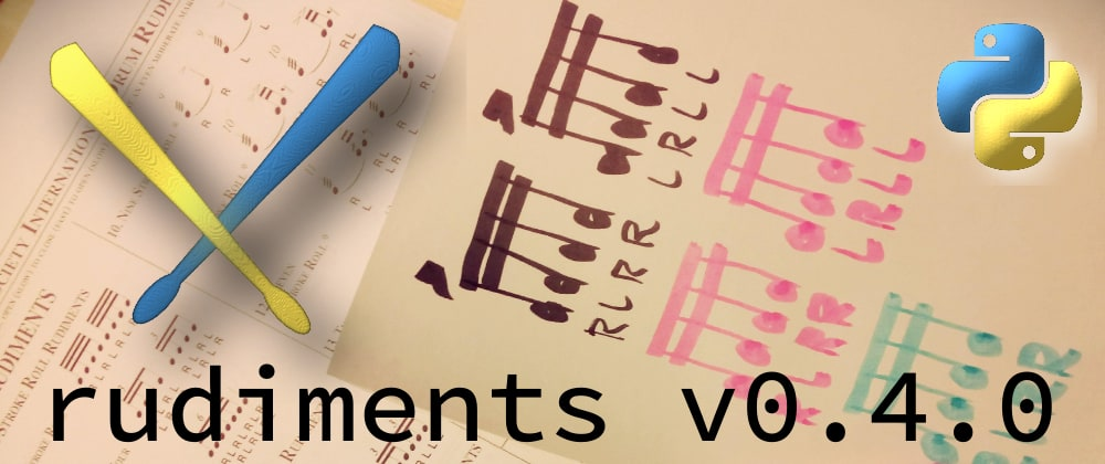 Cover image for Release of rudiments v0.4.0