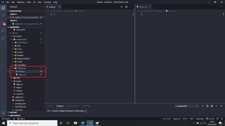 Component Folder