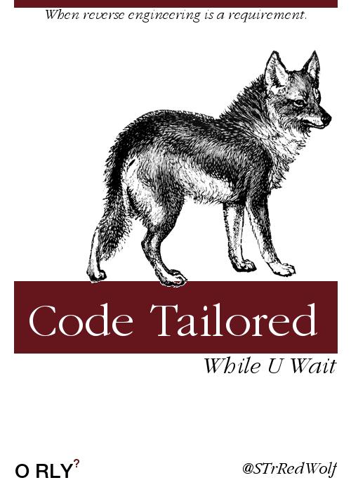 """Code tailored WHILE U WAIT."""