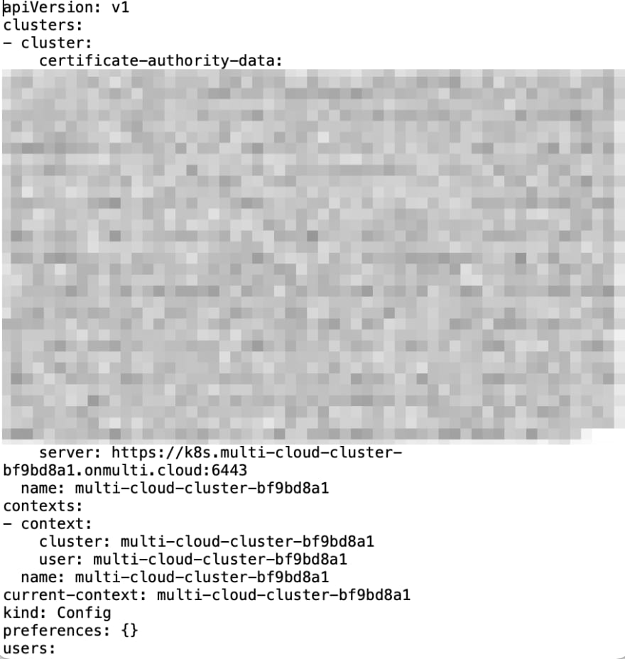 multi cloud code