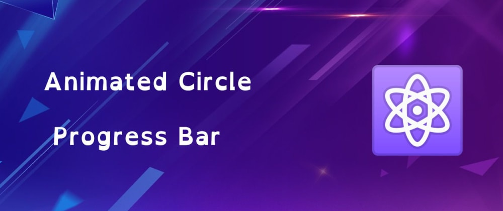 Cover image for Simple Animated Circle Bar as React Component