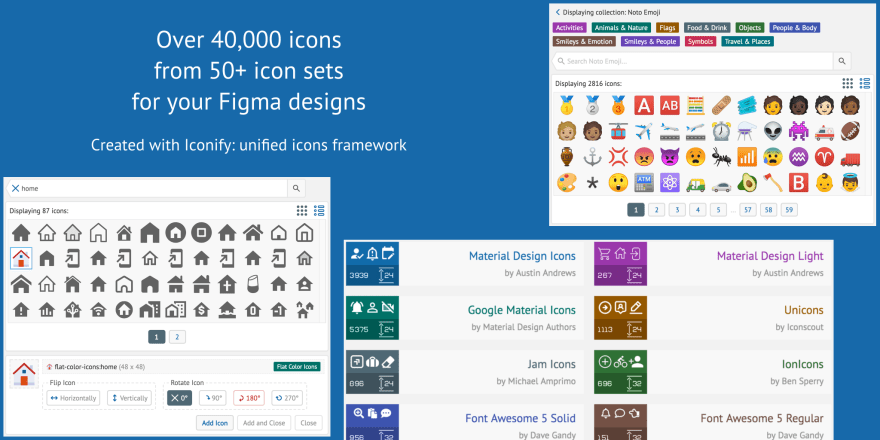 Screenshot of Iconify