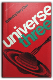 """Cover image of hardback book """"Universe 3"""", edited by Terry Carr"""