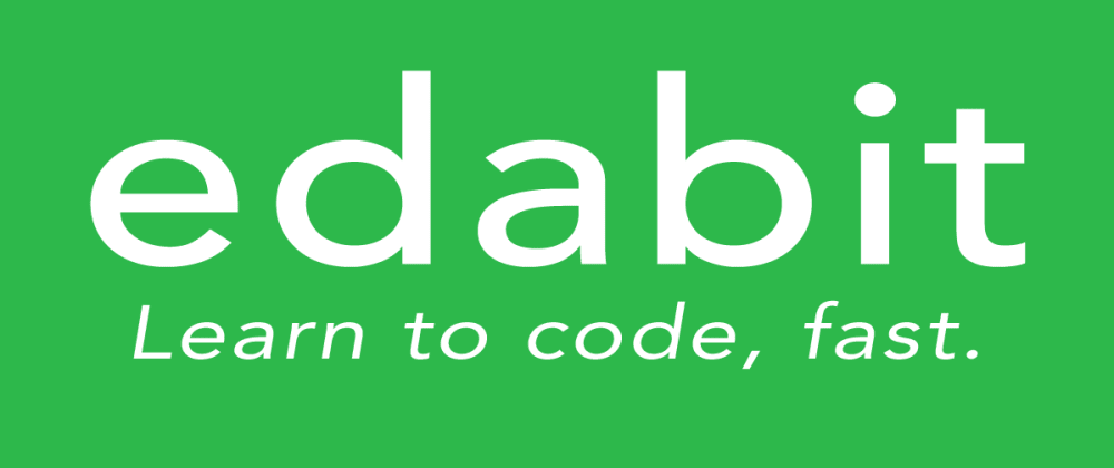 Cover image for Edabit.com My Favorite Resource for JavaScript Practice Problems