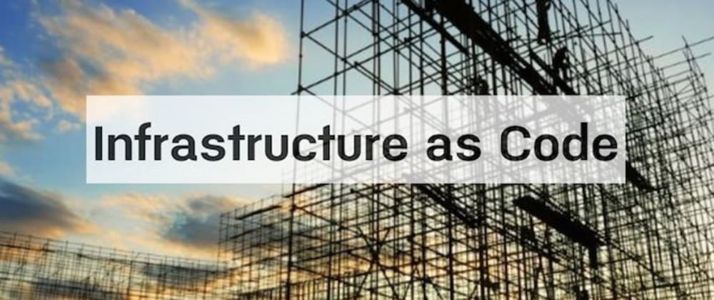 Cover image for Infrastructure as Code