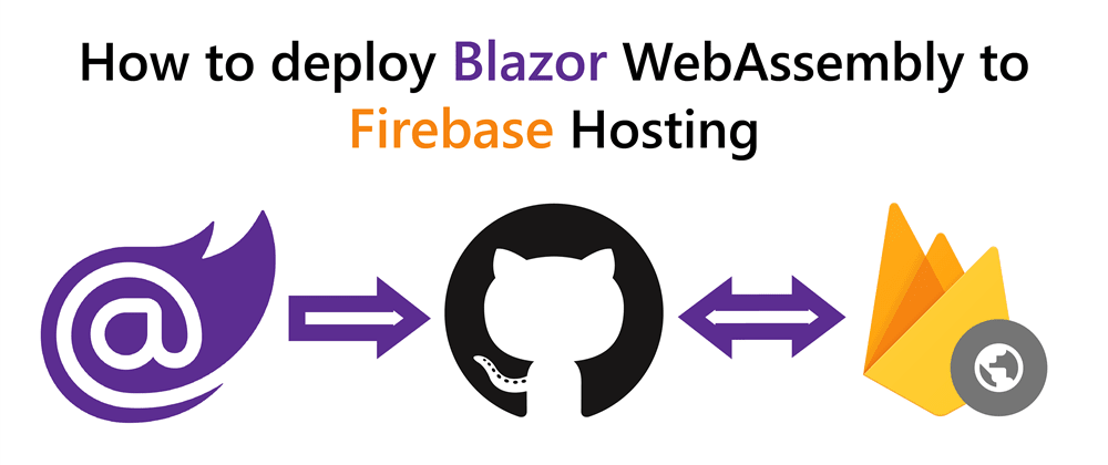 Cover image for How to deploy Blazor WebAssembly to Firebase Hosting