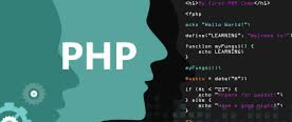 Cover image for Getting started with PHP for web development