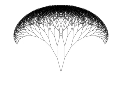 Fractal Tree First Iteration