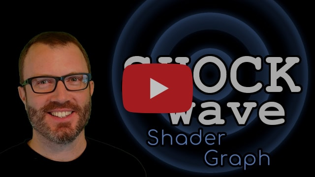 Shockwave Shader Graph - How to make a shock wave shader in Unity URP/HDRP