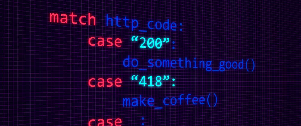 Cover image for New Python Match-Case Article