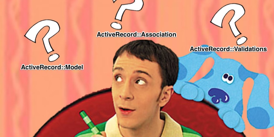 Even Steve from Blue's Clues needs to decide the right tool for the job.
