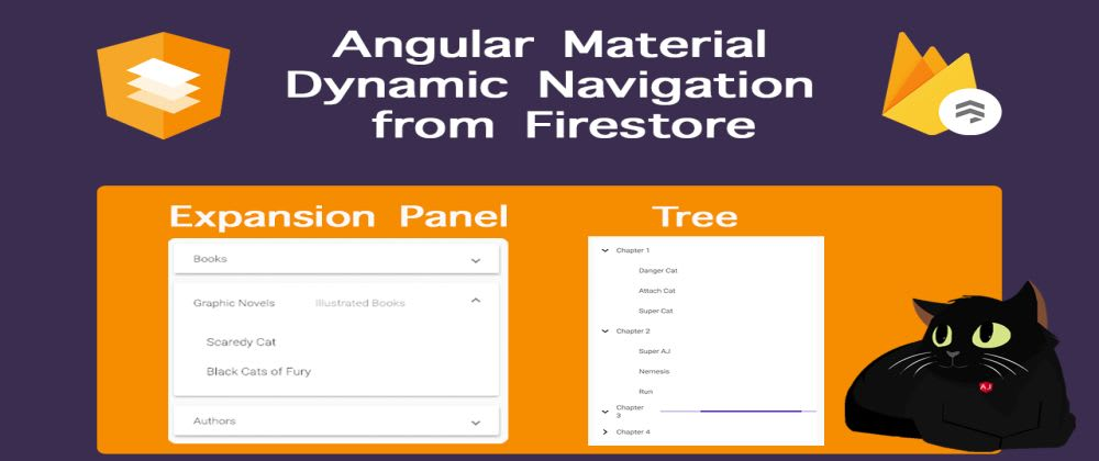 Cover image for Angular Material Dynamic Navigation using Firestore