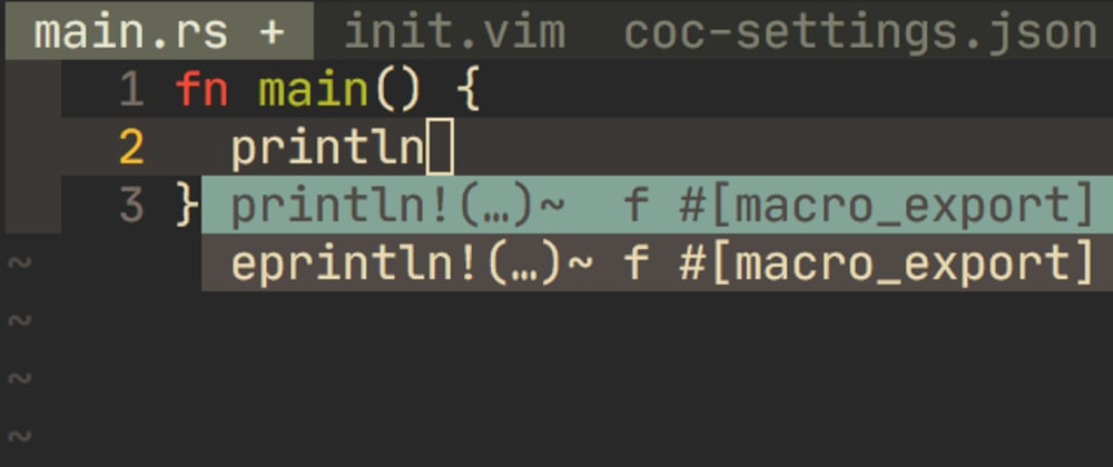 Cover image for Neovim auto select suggestions using coc-vim