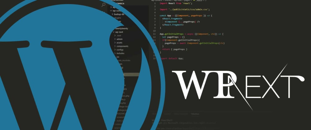 Cover image for A WordPress Theme with Next.js