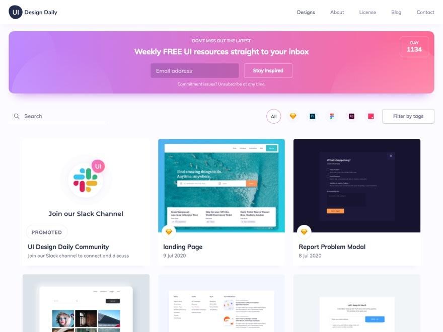 UI Design Daily