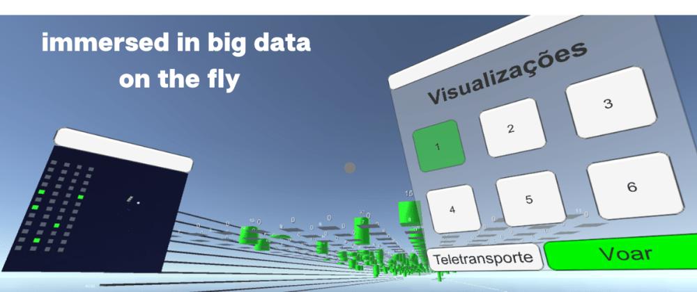 Cover image for Immersive Big Data Visualization