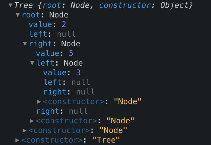二进制搜索树示例代码