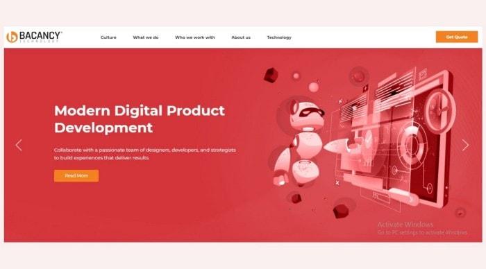 Chatbot app developmrnt company