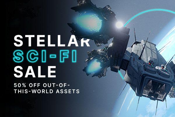 Stellar Sci-Fi Sale