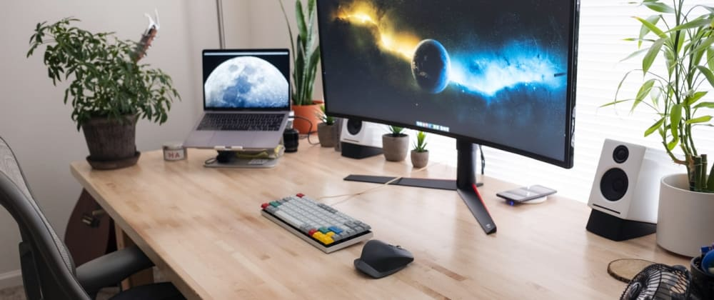 Cover image for Top 5 Desk Essentials for Web Developers