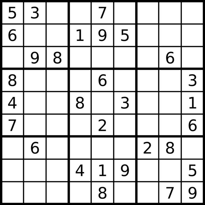 Sudoku Starting Board