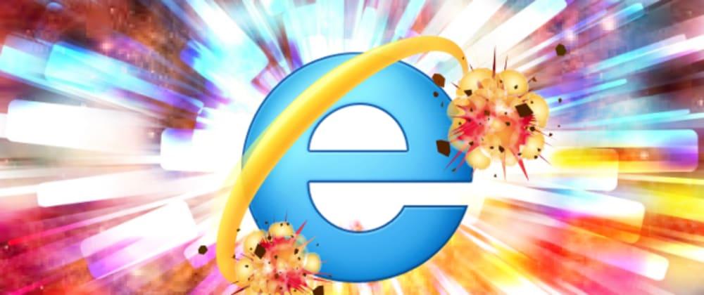 Cover image for Internet Explorer finally dies