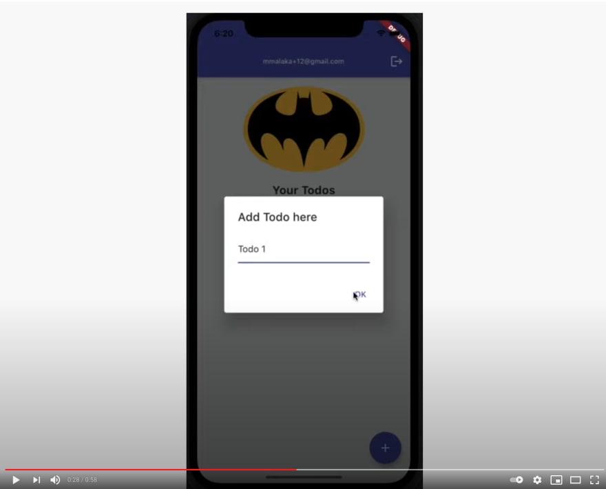A Flutter Todo App using AWS Amplify & GetX