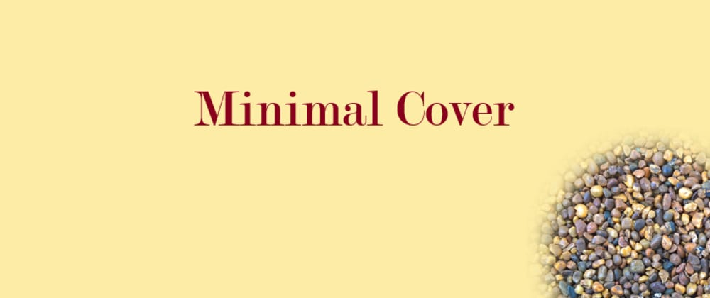 Cover image for Minimal Cover