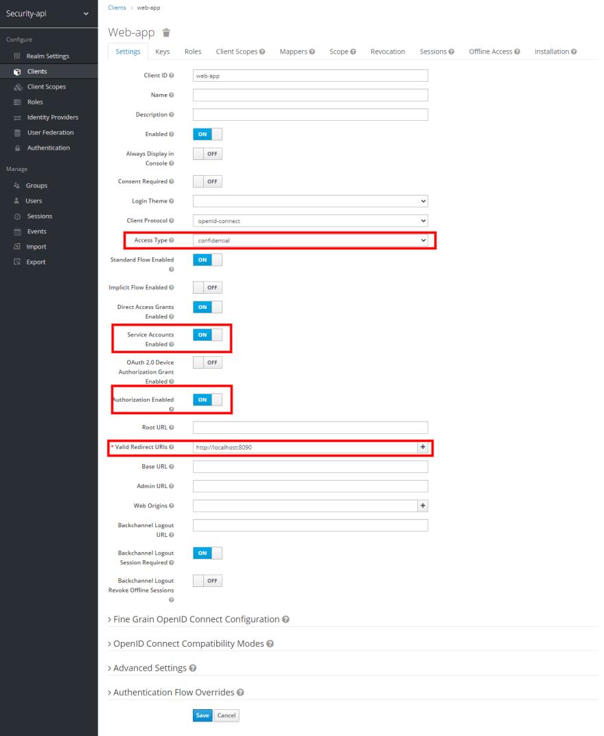 Editando o client