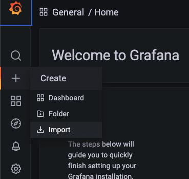 Grafana import