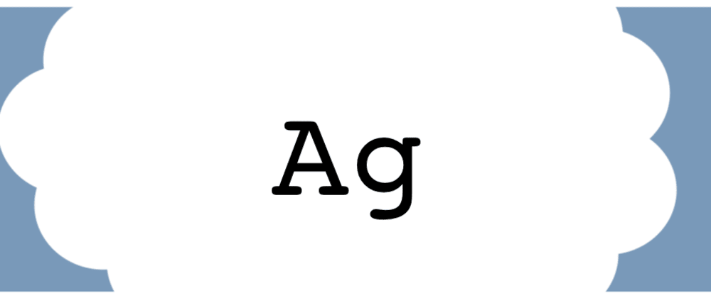 Cover image for Ag