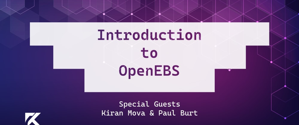Cover image for Introduction to OpenEBS