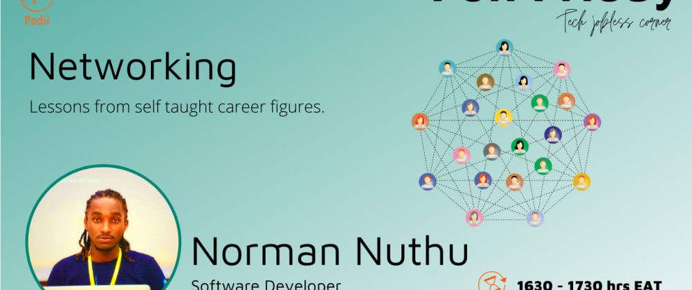 Cover image for Networking For Developers and Lessons from Self-Taught Career Figures