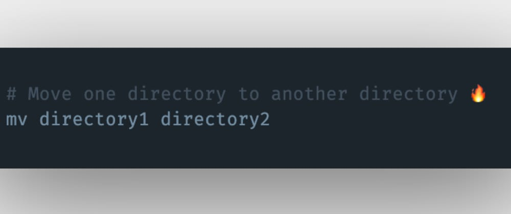 Cover image for How to move a directory to another folder or directory in Linux?