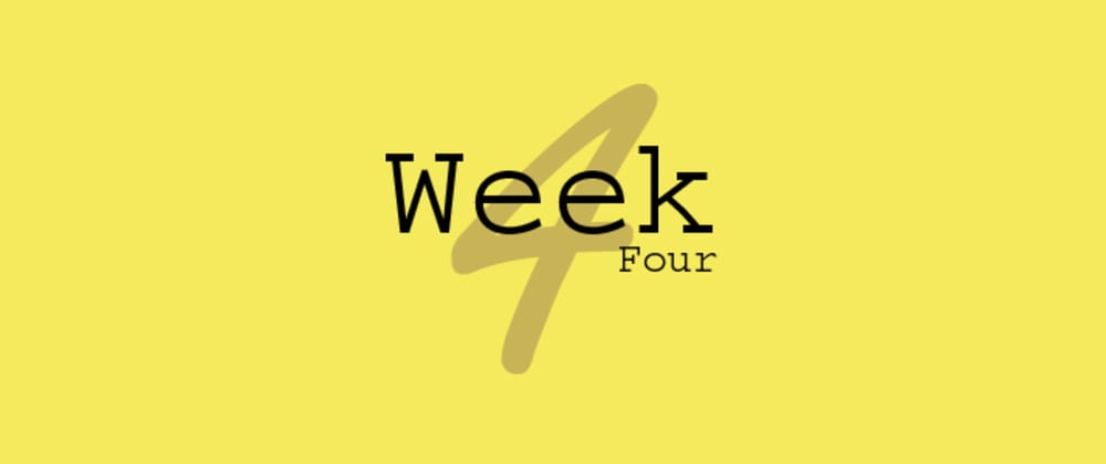 Cover image for Fourth week in Taskforce 3.0