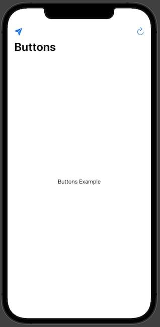 Single Button NavigationView