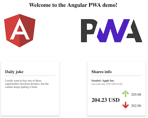 Create Progressive Web Apps with Angular and other free